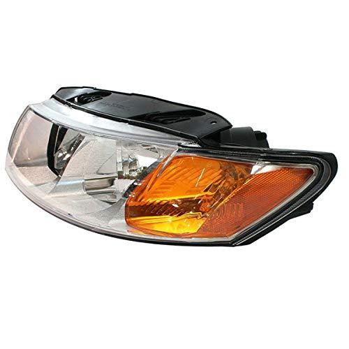 Koolzap For 09-10 Optima Front Headlight Headlamp Head Light Lamp Chrome Trim Set Pair by KOOLZAP (Image #1)