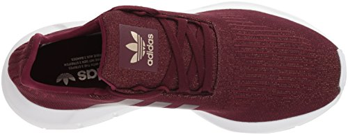 adidas Originals Women's Swift W Running-Shoes,Maroon/Maroon/White,7.5 M US