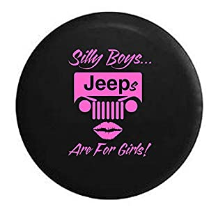 Amazon Com Silly Boys Jeeps Are For Girls Spare Tire