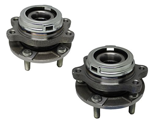 Detroit Axle Both (2) New Front Driver & Passenger Side Complete Wheel Hub & Bearing Assembly Nissan Quest & Murano With-ABS