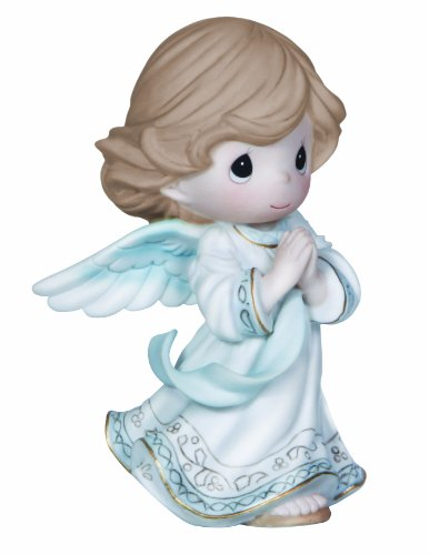 "Precious Moments, Glory To God In The Highest"", Bisque Porcelain Figurine, 131060 by Precious Moments"