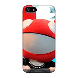 Sanp On Case Cover Protector For Iphone 5/5s (deadmau5 Spinning)