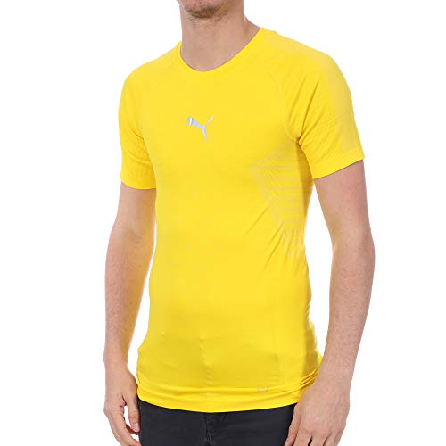 Puma Evoknit T-shirt, geel