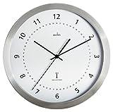 Acctim 74277 Kaava Radio Controlled Metal Case Wall Clock, 12 Inch