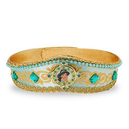[Disney Parks Deluxe Princess Jasmine Crown Tiara for Costume - Gold] (Princess Jasmine Costumes Tiara)