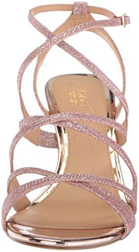 Badgley Mischka Women's Tasha Heeled Sandal Rose Gold NSzA0J