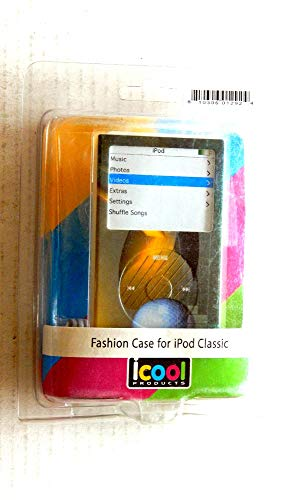 Icool Products Green Fashon Case for Pod Classic MP3 Player with Accessories - Unused in Original Packaging - Includes 1 Case, Screen Protector, Belt Clip, Neck Strap - Anti-Dust Coating
