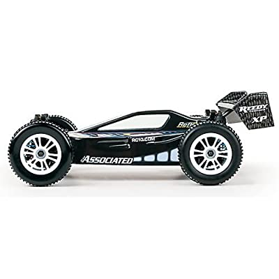 1/18 Reflex 4WD Buggy Brushed RTR, Black