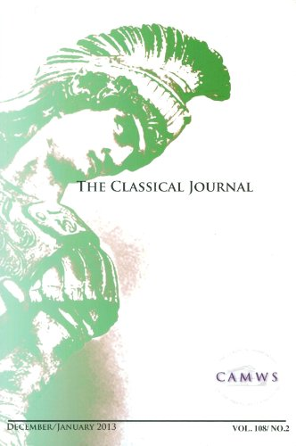 The Classical Journal: December 2012/January 2013, Volume 108, No. 2