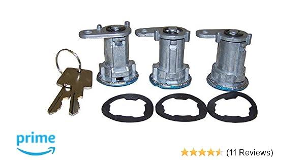 3 Set 8122874K3 Door Lock Cylinder Kits fit Jeep Cherokee,Wrangler CJ7