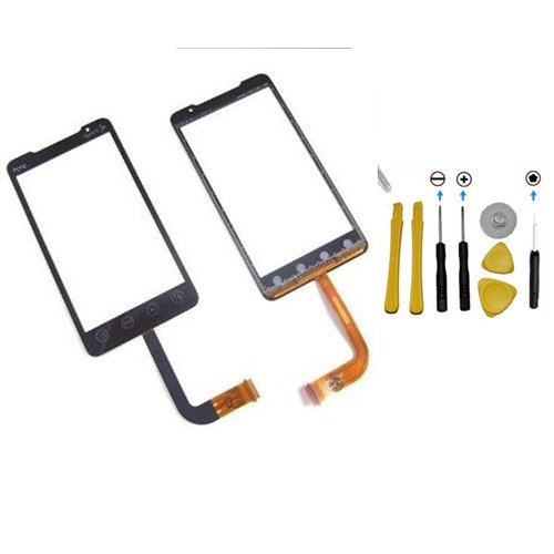 YAGadget HTC EVO 4G Digitizer Touch Screen Replacement + 7 Piece Complete Tool Kit