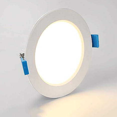 Modenny Luces de techo ultra delgadas Focos de aluminio ...