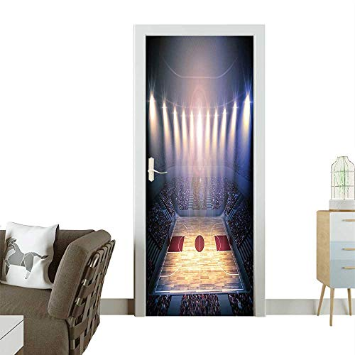 Homesonne 3D Door Decals Crowded Basketball Arena Just for sale  Delivered anywhere in Canada