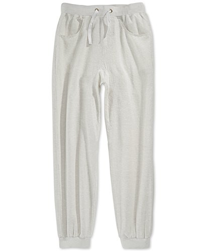 Sean John Boys' Linen Jogger Pants, Vapor Grey, XL by Sean John