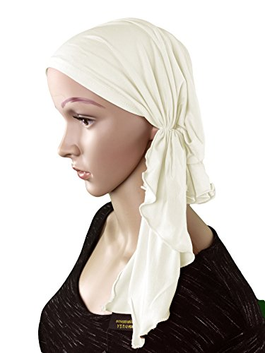 Luxurious Bamboo Fitted Cancer Bandana