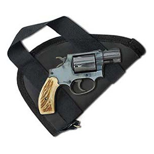 Shark GunLeather Pistol Case/Pistol Rug with Handles for Small Revolvers and Small Semi-Autos - Made in USA - MOD - PA