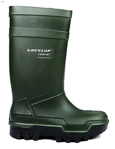 Ladies Full 7 Purofort Thermo C662933 Dunlop GREEN Wellington Safety qFrIF6w