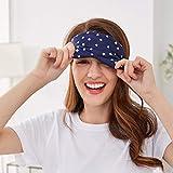 Lonfrote Stars Natural Silk Sleep Mask, Smooth