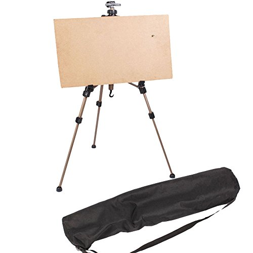 Price comparison product image Marketworldcup - Folding Art Artist Telescopic Field Tripod Display Stand Studio Painting Easel