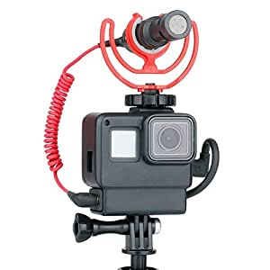 Funda para funda Vlog Libertry para GoPro Hero 7, marco para ...