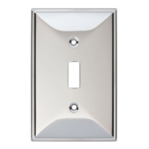 Franklin Brass 135873 Beverly Single Toggle Switch Wall Plate / Switch Plate / Cover
