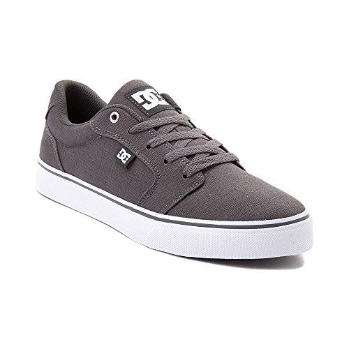 遷移ペルー印をつける(ディーシー) DC 靴?シューズ メンズスケートシューズ Mens DC Anvil TX Skate Shoe Dark Gray ダーク グレー US 14 (32cm)