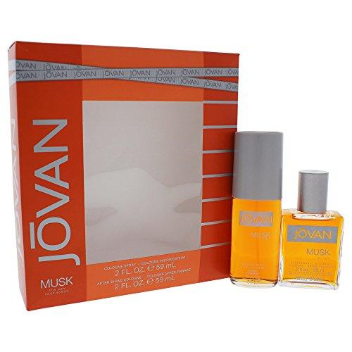 Jovan Men 2pc Set - 2 oz Cologne Spray + 2 oz Aftershave Cologne