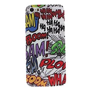 CeeMart Graffiti Design Hard Case for iPhone 5/5S
