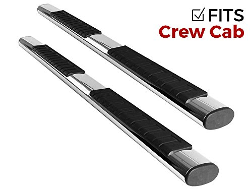 Ionic Voyager Plus Stainless Steel Running Boards Dodge Ram 2009-2014 Crew Cab