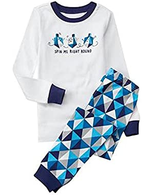 Dreidel 2-Piece Gymmies Pajama Set by Gymboree