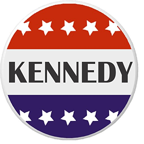 Kennedy Red White Blue Stars 1.25