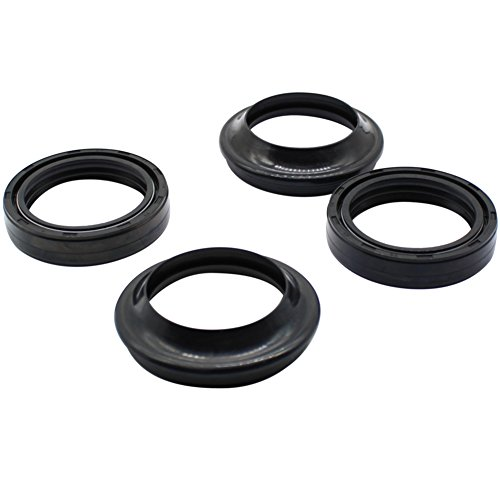 Cyleto Front Fork Oil Seal and Dust Seal Kit 35 x 48 x 11mm for Honda CB750F CB750 F Super Sport 1975-1980 / CB750K 1972-1982 / CB750L CB750 L 1979 by Cyleto (Image #2)