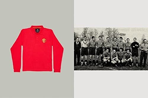 Coolligan - Polo de Fútbol Retro 1934 Spain: Amazon.es: Ropa y ...