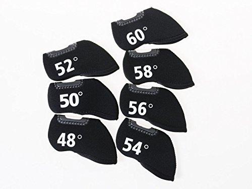 能力接続詞病んでいるゴルフ用 ドライバー用 ヘッドカバー 度数入り #56度
