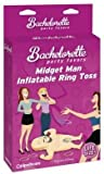 Pipedreams Products Bachelorette Party Midget Man Inflatable Ring Toss