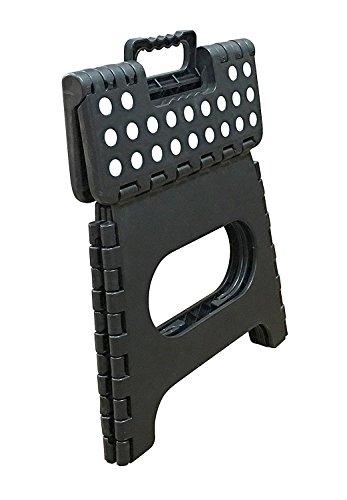 Jeronic 11 Inch Plastic Folding Step Stool Black Buy