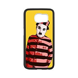 XOXOX Customized Cell phone Cases of Charles Chaplin Phone Case For Samsung Galaxy S6 G9200 [Pattern-4]