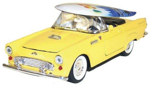 1955 Ford Thunderbird Hawaiian Collectible Car with Surfboard by Islander