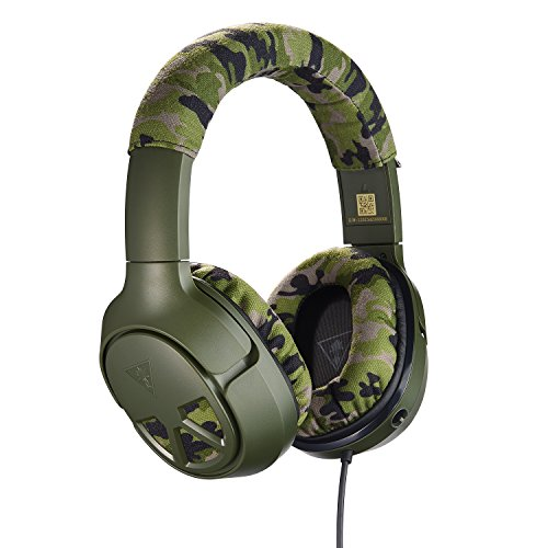 Turtle Beach Recon Camo Multiplatform Gaming Headset for Xbox One, PS4, PC, Mac, & Mobile – Xbox One