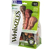 Product review for Paragon Whimzees Toothbrush Star Dental Treat for X-Small Dogs, 49 Per Bag