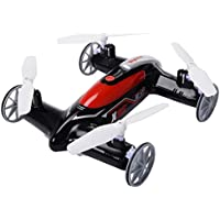 2.4G 4CH 6-Axis RC Flying Car Remote Control Quadcopter 3D Drone + FREE E - Book