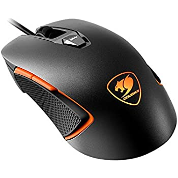 Cougar 450M Ambidextrous RGB Optical Gaming Mouse, FPS/MOBA Iron-Grey
