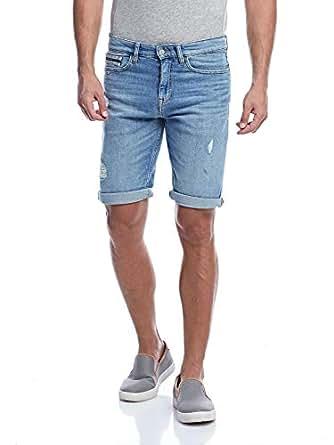 Calvin Klein Bermuda Shorts for Men - Blue 31 US