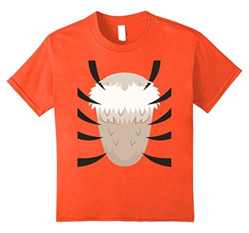 Quick Last Minute Halloween Costumes For Kids - Kids Tiger Costume T-Shirt - Last Minute Halloween Costume 10 Orange