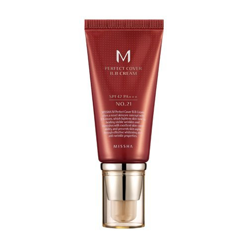 Missha M Perfect Cover B.B. Cream SPF 42 PA+++ 21 Light Beig