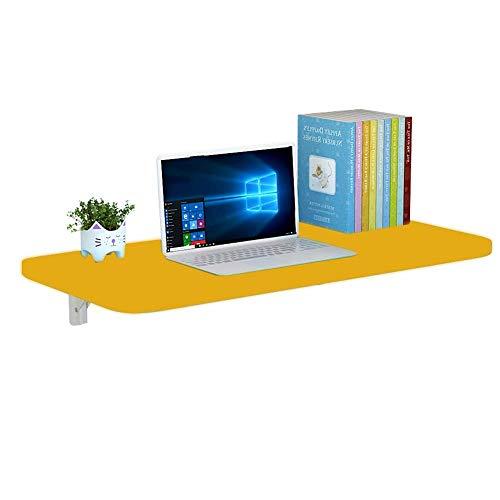 AOLI Montado en la pared Mesa plegable Mesa de comedor pared montado en la pared plegables de la tabla del escritorio del ordenador de aprendizaje de mesa plegable Escritorio del estudio de alas abat