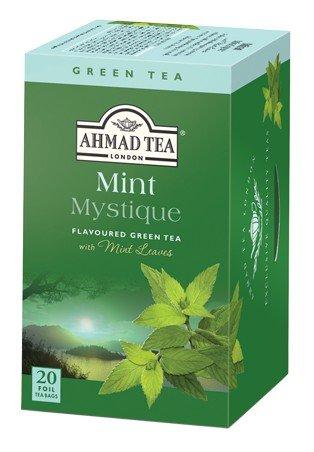 Flavor Black Tea Bag (Mint Green Tea) - 1.4oz by Ahmad.