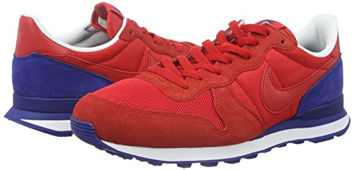 Nike Hommes Internationaliste Chaussure De Course Rouge