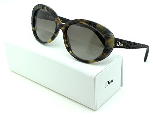Dior Taffetas 3 Cateye Women Sunglasses (Havana Brown Frame, Brown Gradient Lens - Havana Sunglasses Dior