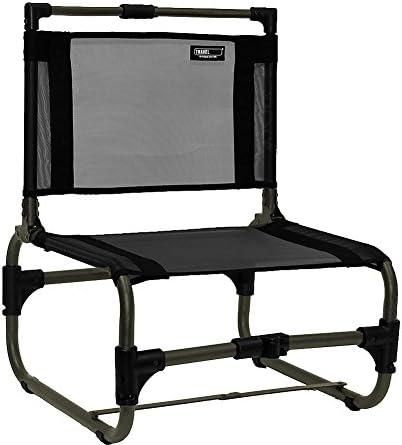 Travel Chair Larry Chair Aluminum – Black – 169ABK